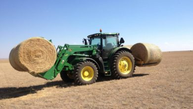A good tractor is part of good farming equipment