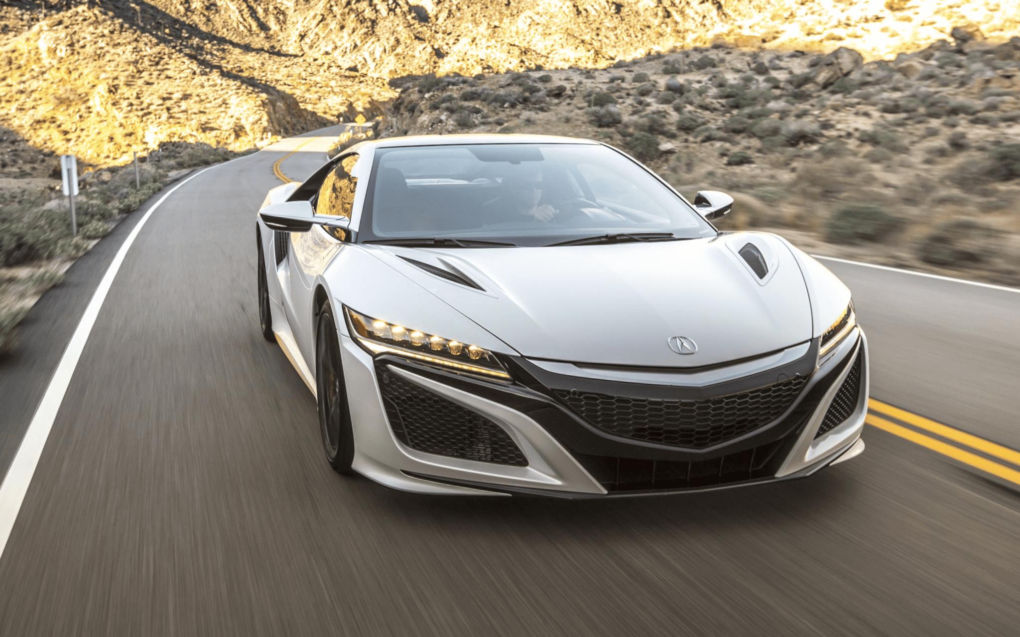 top 10 hybrids acura nsx