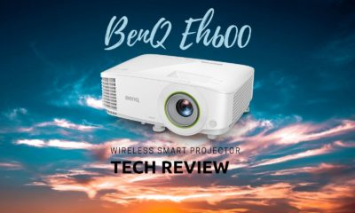 BenQ EH600 superior digital smart wireless projector in singapore cover image