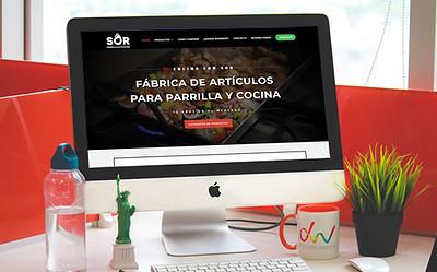 Sitio web Cocina con SOR