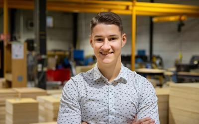 Un nouvel employé Ventes pour NO-NAIL BOXES : Joe Reiners