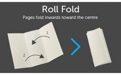 roll fold diagram