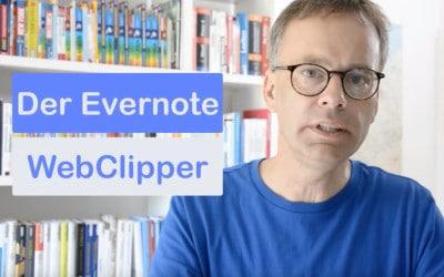 Webseiten speichern mit dem Web Clipper