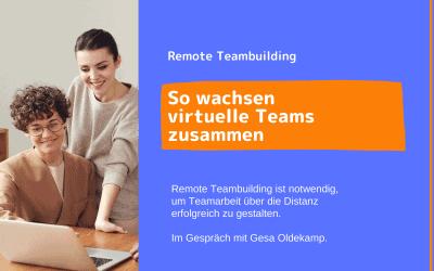 Teambuilding bei remote Teams