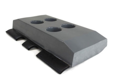 Track pad for construction equipment