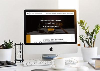 Sitio web Estudio Jurídico genera