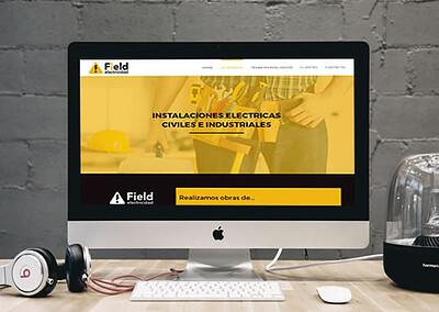 Sitio web Field Electricidad