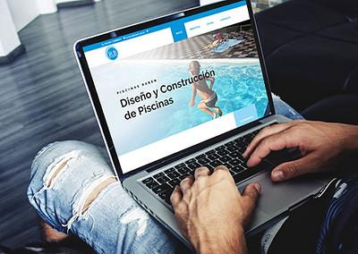 Sitio web Piscinas Raben