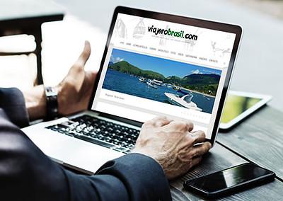 Sitio web Viajero Brasil