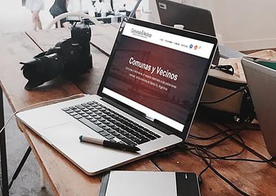 Portal web Comunas y Vecinos