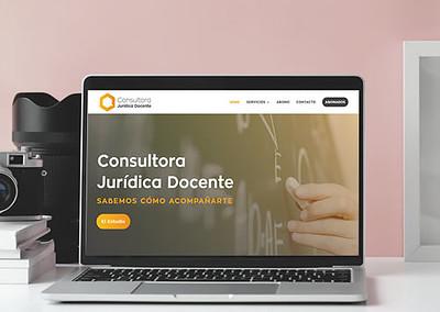 Sitio web Consultora Jurídica Docente