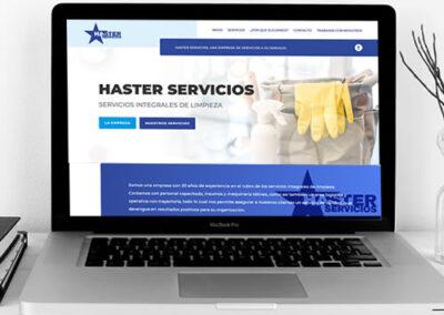Sitio web Haster Servicios