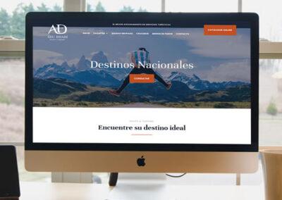 Sitio web Abu Dhabi Viajes