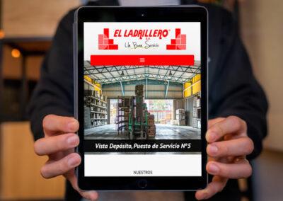 Sitio web El Ladrillero