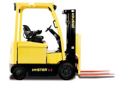 2,2–3,5to Vierrad–Elektrostapler mit Bandagenreifen Hyster E2.2‑E3.5XN