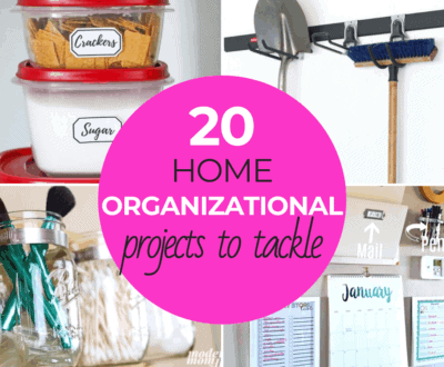 Home Organization Projects