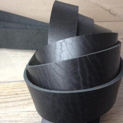 Заготовка для ремня Черная 40 мм
