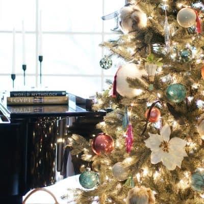Christmas Tree Piano Tall