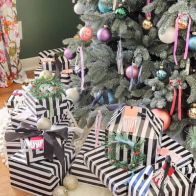 Modern French Bohemian Christmas Tree Resized Watermark 19