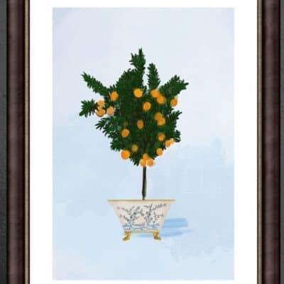 Mikan Tree Framed