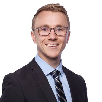 Solicitor Samuel Gray from DPH Legal