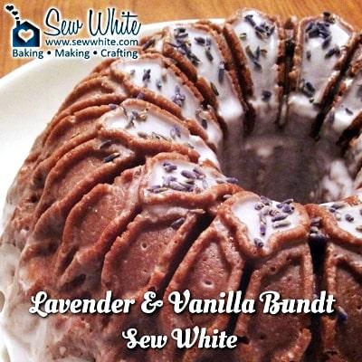 Sew White Lavender and Vanilla Bundt Recipe 5