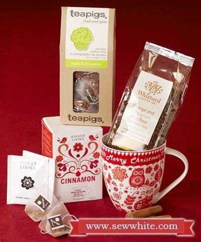 Sew White Christmas 2014 food and drink 9 tea