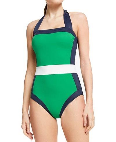 Boden Santorini Swimsuit | 40plusstyle.com
