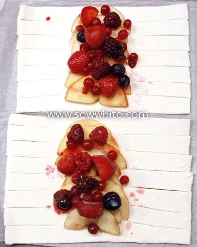sew white bleeding apple mummy pastries 3