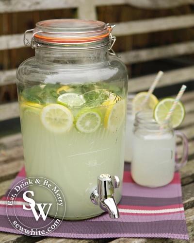 Sew White spring gin lemonade 1