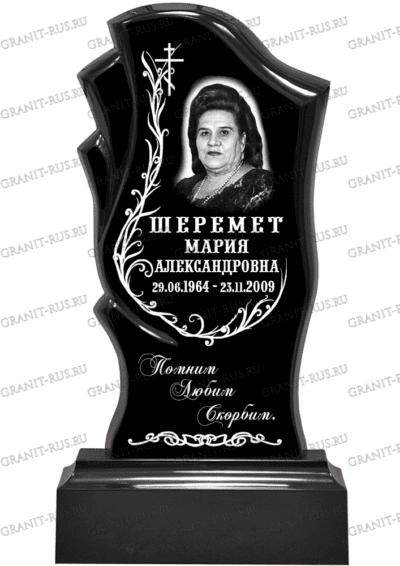 Памятник из литьевого мрамора СТ 014