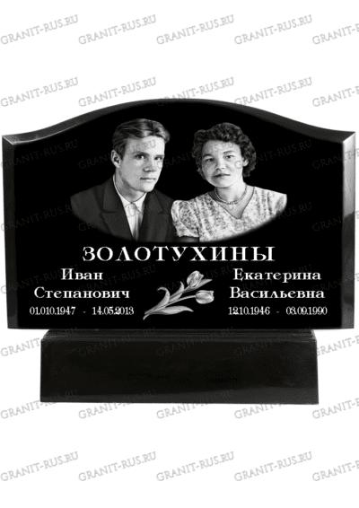 Памятник из литьевого мрамора СТ 074