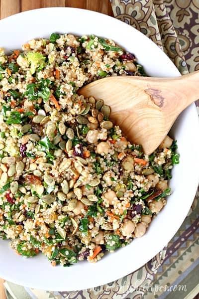 Moroccan Quinoa Power Salad