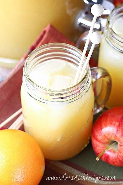 Sparkling Apple Cider Punch