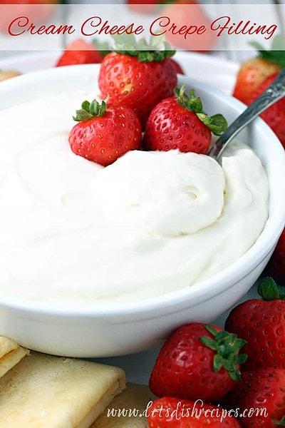 Cream Cheese Crepe Filling