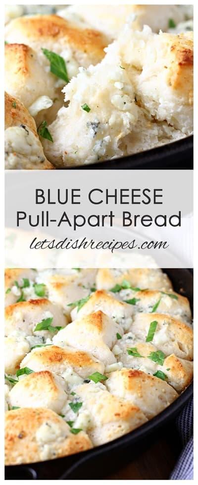 Blue Cheese Pull Apart Bread