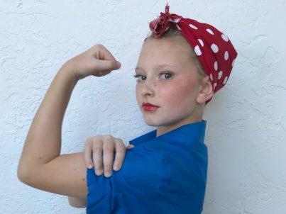 Girl Power - Natasha as Rosie
