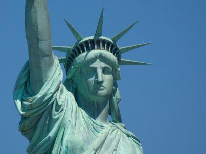 Statue of Liberty polarized image.