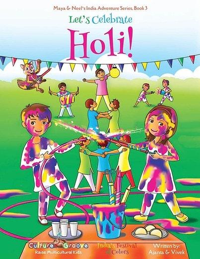Let's Celebrate Holi Ajanta Chakraborty