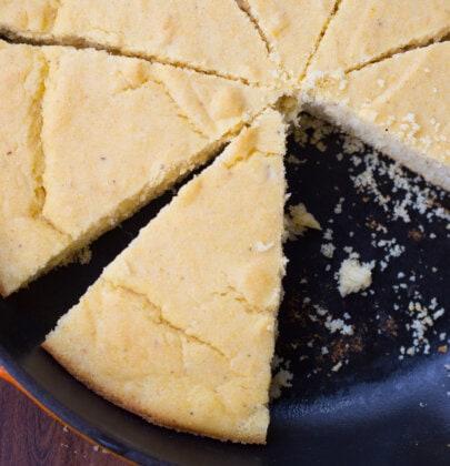 Homemade Southern Buttermilk Cornbread
