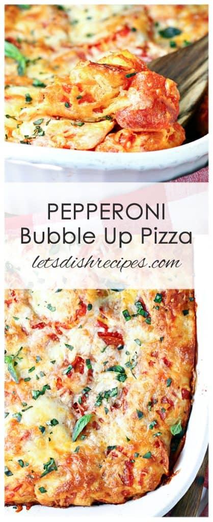 Pepperoni Bubble Up Pizza