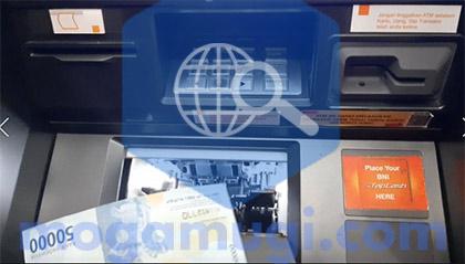 Ambil Uang di ATM BNI Tanpa Kartu Terbaru