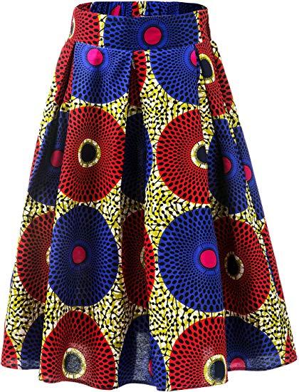 Flared A-line Skirt by Aikaplus 3