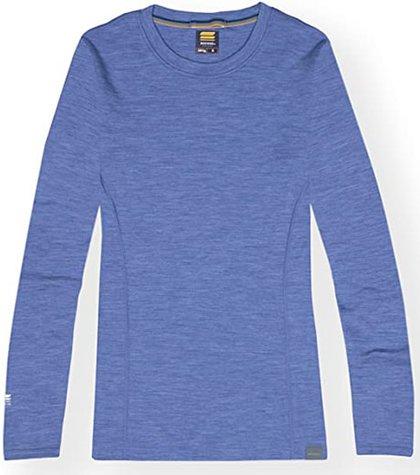 MERIWOOL base layer thermal shirt | 40plusstyle.com