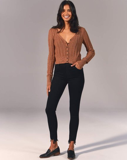 Abercrombie High Rise Super Skinny Ankle Jeans - best gifts for fashion bloggers