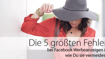 5 fehler FB Werbung