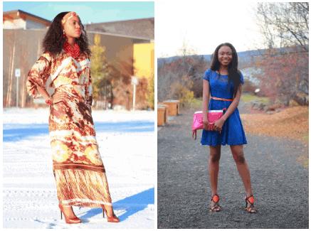 Buba and iro, lace skirt