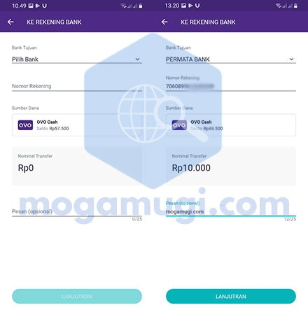 Cara Transfer OVO Ke ShopeePay 2021