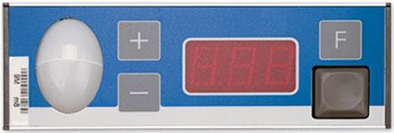 PTF-3N-4 Pick-by-Light Anzeige mit dreistelligen Display und Tasten