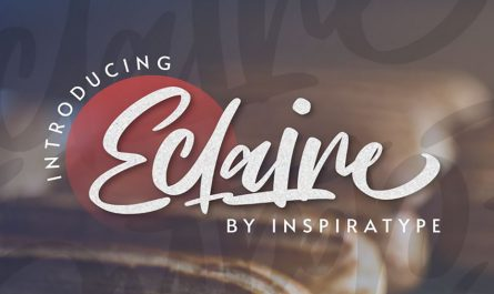 Eclaire Font Family Free Download